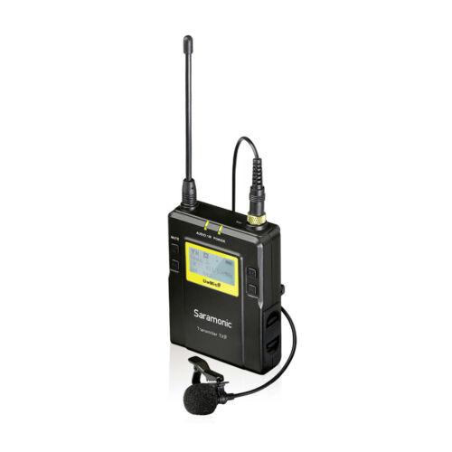 range 500 MHz Saramonic TX9 Trasmettitore Wireless UHF