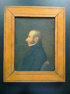 Tableau-periode-Restauration-superbe-etat-huile-sur-toile-portrait-homme
