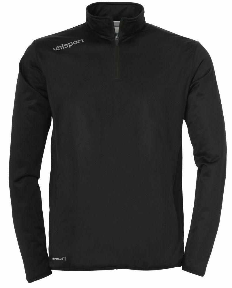 Uhlsport Fußball Essential 1 4 Zip Top Pullover Herren Sweatshirt Sweatshirt Sweatshirt schwarz weiß 2cca65