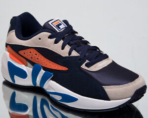 Details about Fila Mindblower Mannen Navy Schoenen Casual Lifestyle Sneakers 1010574 21A
