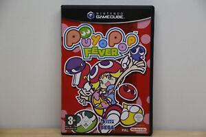 Puyo-Pop-Fever-Nintendo-GameCube-2004-DVD-Box-Sehr-Guten-Zustand-mit-OVP