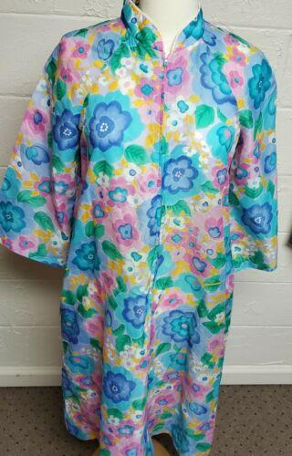 Vintage Saybury Floral Dressing Gown/House Coat