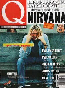 Q UK Music Magazine October 1993 Paul McCartney Nurcana Kurt Cobain 111319AME
