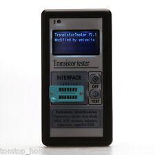 LCD Transistor Tester Capacitance LCR ESR Meter Diode Inductor MOS NPN PNP US