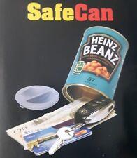 hide stash money//keys//jewellery//document//valuables Soup//Spagetti//Beans safe can