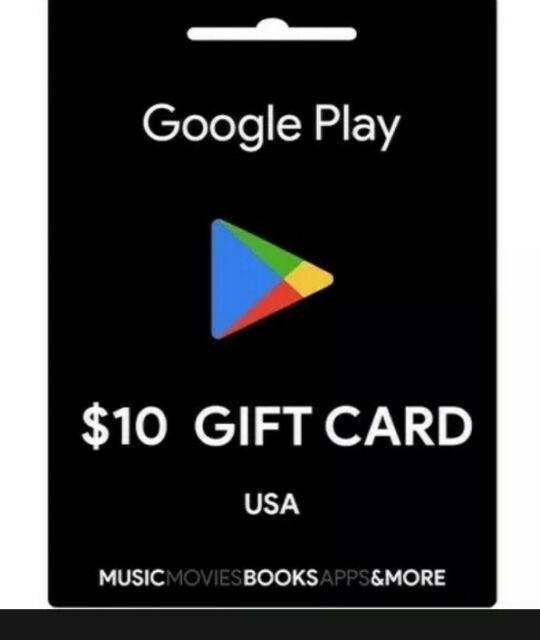 10$ Google Play Gift Card 🎁
