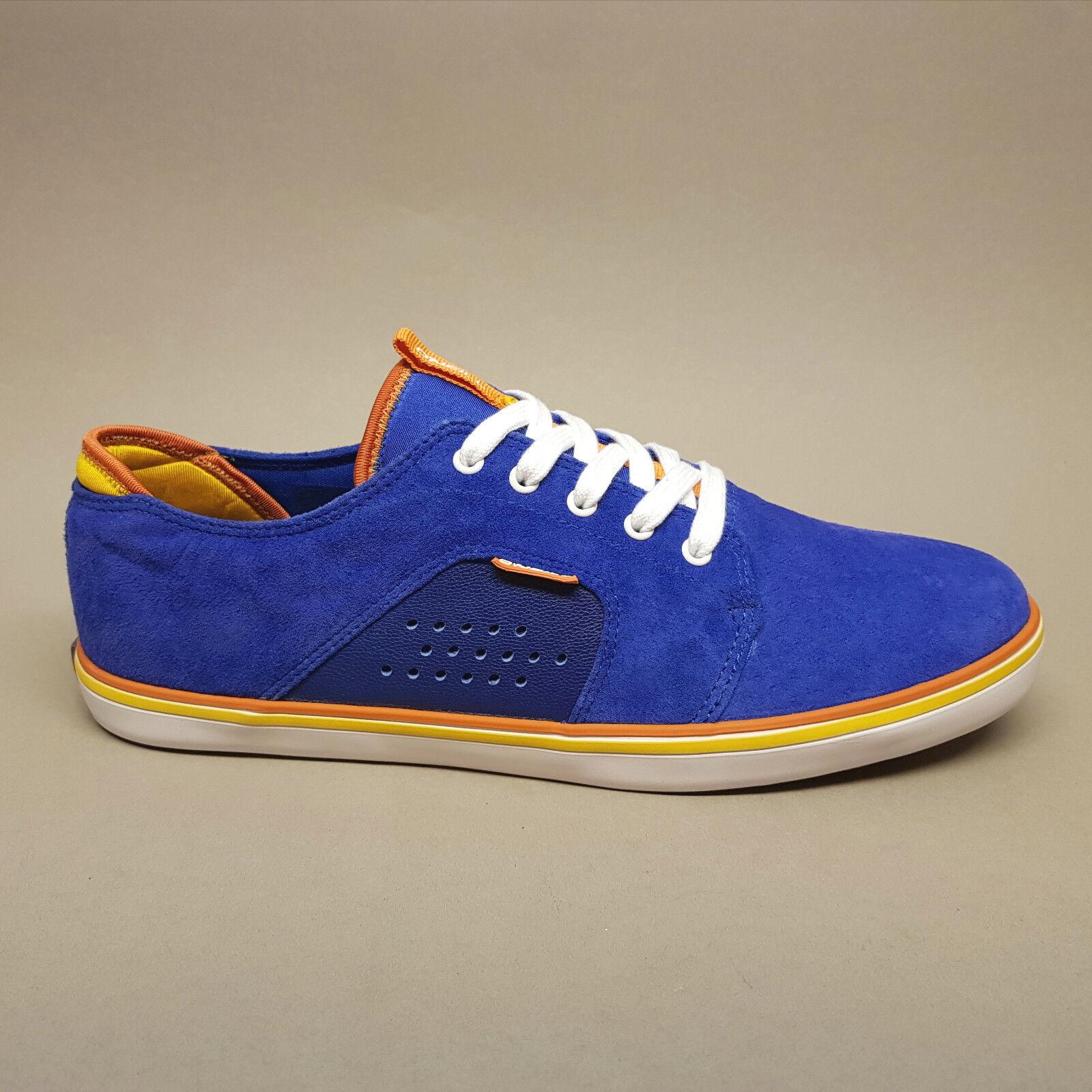O'Neill Heat 59.1099.01 S42 Turnschuhe Sneakers Neon Blue lila/blau Wildleder