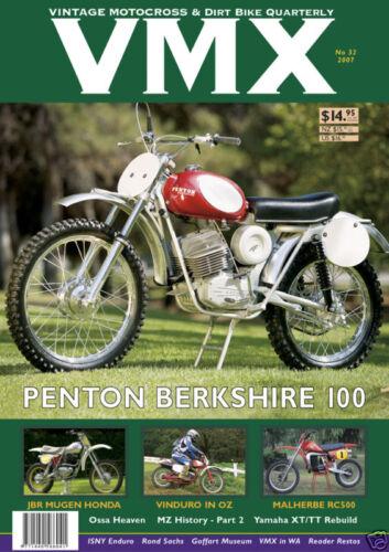 VMX Vintage MX /& Dirt Bike AHRMA Magazine Issue #32