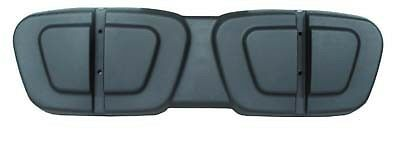 CLUB CAR GOLF CART PART BLACK PLASTIC SEAT BACK CAP GAS & ELECTRIC 2000-UP DS