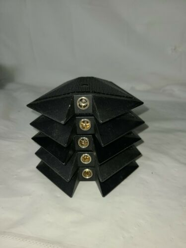 Lot of 5 Audio-Technica AT871R UniPlate Undirectional Condenser Boundary...