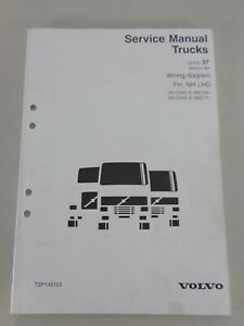 Workshop Manual Wiring Diagrams Volvo Trucks Fh Nh Lhd From 1998 Ebay