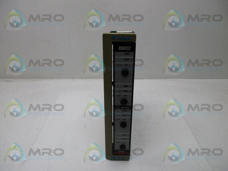 GOULD B802 OUTPUT MODULE  USED
