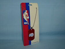 LOS ANGELES CLIPPERS Stainless Steel LASER TAG MEDALLION on chain   NIP