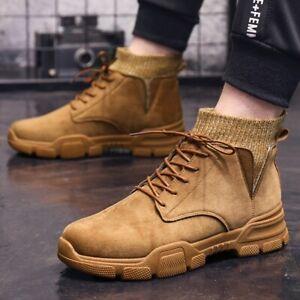 Мужские повседневные Мартин ботинки с