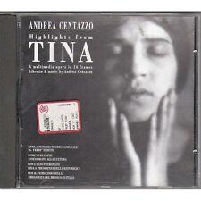 ANDREA CENTAZZO - Highlights from TINA - OTTAVIA PICCOLO ALBERTAZZI - CD 1996