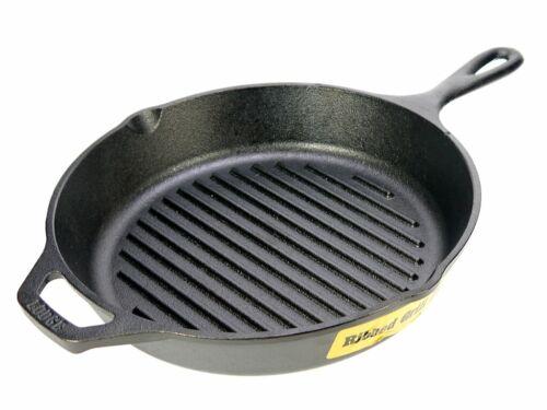 Lodge  Amerikanische Grillpfanne Steakpfanne 26 cm schwarz Induktion NEU