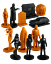 thumbnail 4 - Fright Rags Exclusive Halloween 1978 Nanoforce Figures Set - Limited to 2500