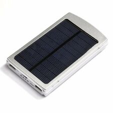 30000mAh Solar Power Bank (Silver)