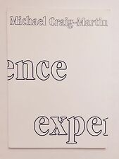 MICHAEL CRAIG-MARTIN, Exhibition catalogue, Waddington gallery, 1997