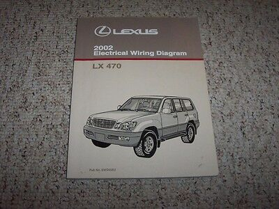 [SCHEMATICS_48ZD]  2002 Lexus LX470 LX 470 Factory Original Electrical Wiring Diagram Manual  Book | eBay | Lexus Lx 470 Wiring Diagram |  | eBay