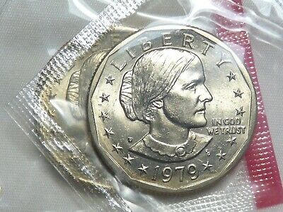 1981 D SUSAN B ANTHONY  Uncirculated in Mint Cellophane