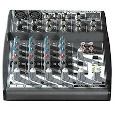 Behringer Xenyx 802 Premium 8-Input 2-Bus Mixer with Xenyx Mic Preamps and New