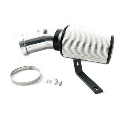 Polished Cold Air Intake Kit w// S/&B Dry Filter 11-16 Ford 6.7 Powerstroke Diesel