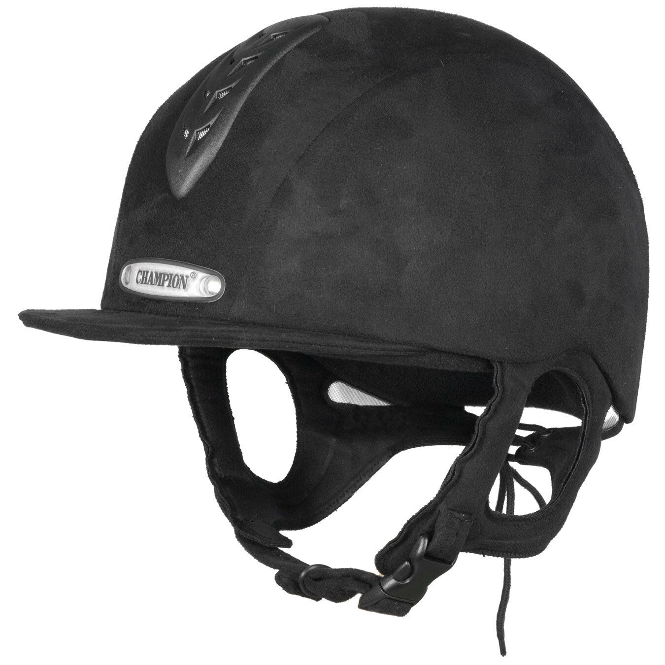 CHAMPION Jnr adulti X-Air Cappello da equitazione ventilato, tutte le taglie, nero, nuovo PAS015 vendita
