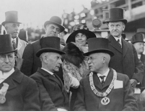 President Coolidge Print masonic poster freemason artwork ring
