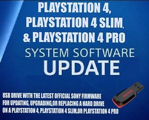 Details about PS4 UPDATE INSTALL USB FLASH DRIVE PLUG IN LATEST OFFICIAL  SONY FIRMWARE FW OFW