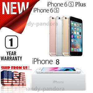 Brand New Apple iPhone 8 / 6S Plus / 6S Unlocked Smartphone - See Description