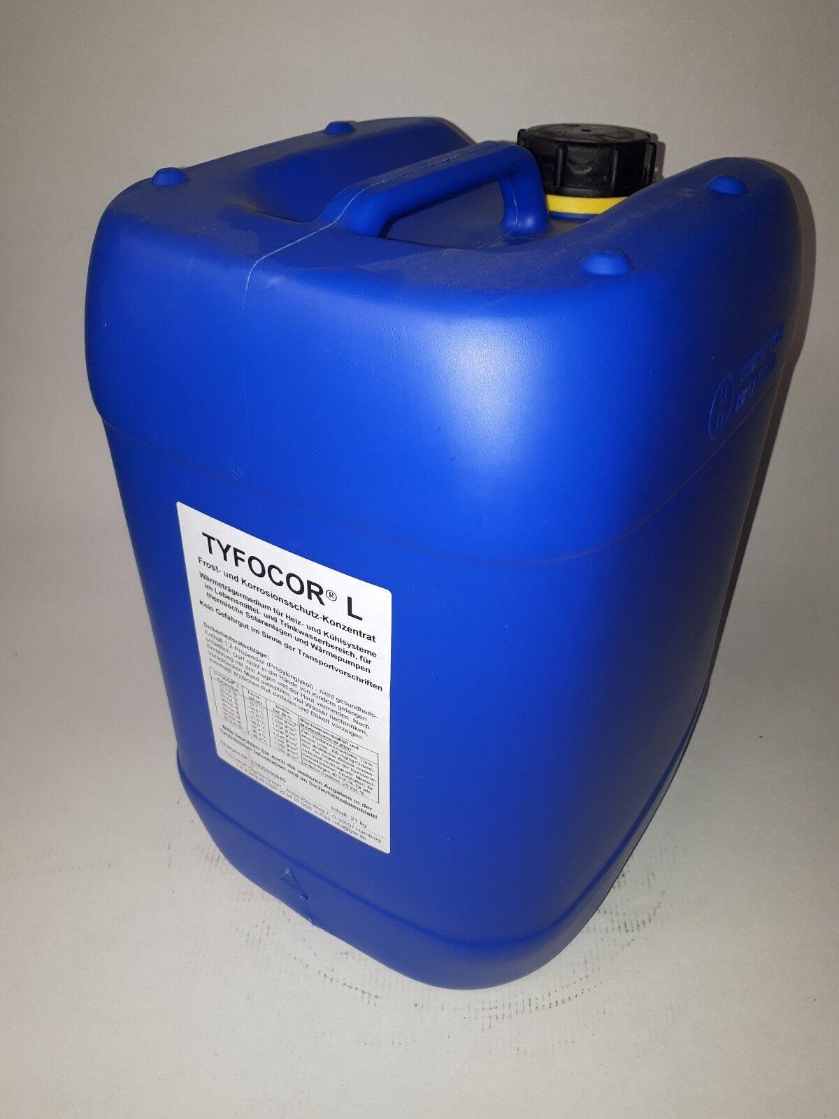 40 Liter (=2x20 L) Tyfocor L Konzentrat , Solarfluid Wärmeträgerflüssigkeit