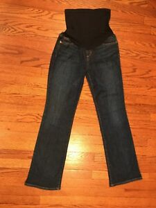 Maternity Belly Denim scuro In The Pea 29 Joe's stretch Pannello Bootcut Pod Jeans rC6rq