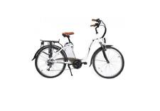 Bicicletta Elettrica - CITY BIKE UNISEX WH 25 km/h, 250w, 10Ah 24V , RUOTA 26 cm