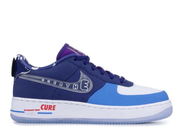 Nike Air Force 1 DB Doernbecher GS Deep Royal Blue Clear BV7251 400 Size 4.5Y