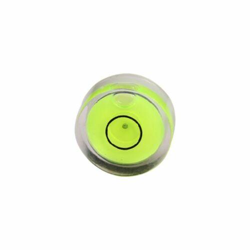 Tiny Disc Bubble Spirit Level Round Circle Circular Green Tripod