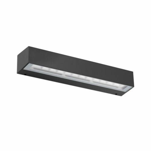 LED Außenwandlampe TACANA IP65 Dunkelgrau
