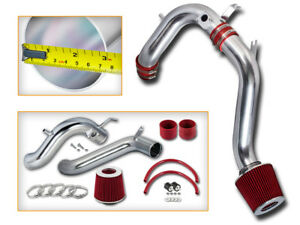 Filter BCP RED 04-08 Acura TSX 2.4L Cold Air Intake System