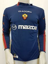 MAGLIA CALCIO SHIRT A.S. ROMA MAZDA 2003-04 TG.M FOOTBALL JERSEY SOCCER IT360