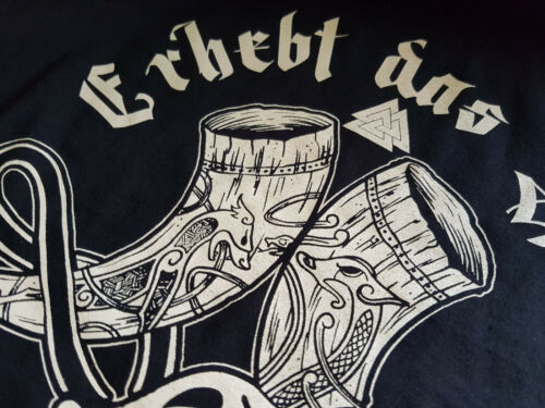 The Giacca Viking da Grigio Odin Viking Thor Horn Berserker college Raise Walhalla T7dgOwqTp