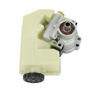 Power-Steering-Pump-for-2002-2006-Jeep-Liberty-2-4L-3-7L-V6-SOHC-w-reservoir