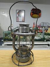 Dietz Vesta  New York Central ( N.Y.C.S. ) Short Globe Railroad Lantern , Nice