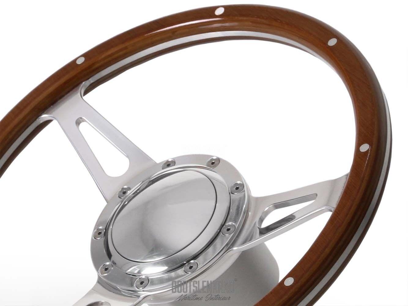 Premium Stiefellenkrad novum für Stiefele mit mit Stiefele Teleflex Ultraflex Lenkung 50533000 8d2765