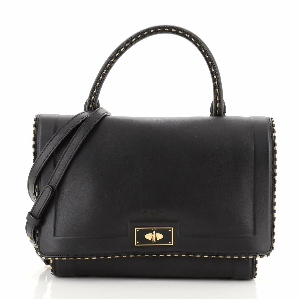 Givenchy Shark Convertible Satchel Leather Small    eBay
