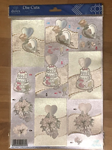 DUFEX Die Cuts Wedding theme  ** MULTIBUY OPTIONS AVAILABLE **