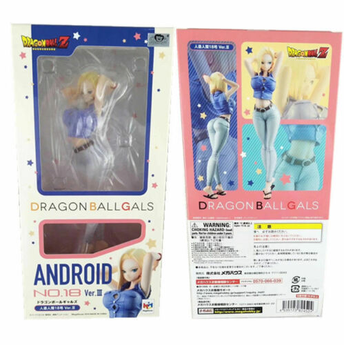 MegaHouse Dragon Ball Gals Android No.18 Ver.Ⅲ Girls Figure Collection in Box