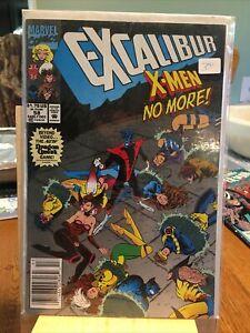 MARVEL COMICS: EXCALIBUR  X-MEN NO MORE. #58. W8.