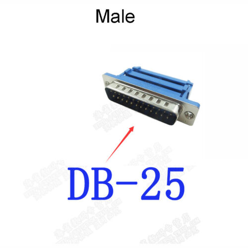 9//15//25//37//50 Pin IDC Ribbon Cable Connector Solderless Serial DB9 RS232 Plug