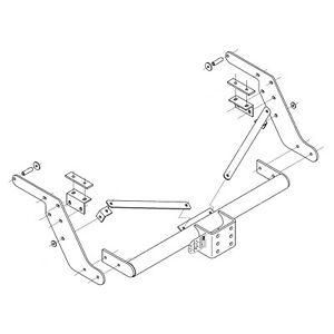 Details about Towbar for Toyota Hilux 4WD Pickup (with step) 1998-2005 on