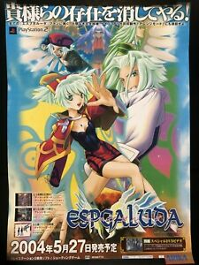 Espgaluda Arika PS2 Video Game Advertising Poster from ...